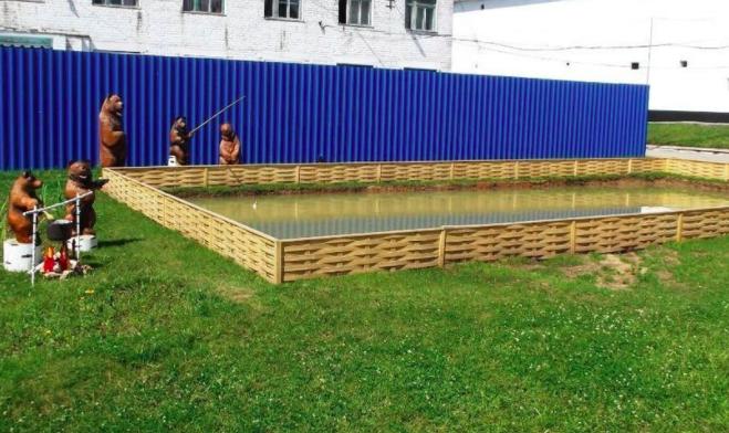 Осужденные из Омутнинска вырыли пруд