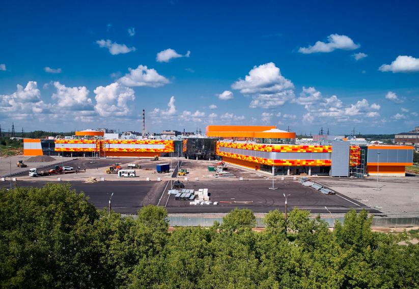 ТРЦ «Макси» откроется в следующем году
