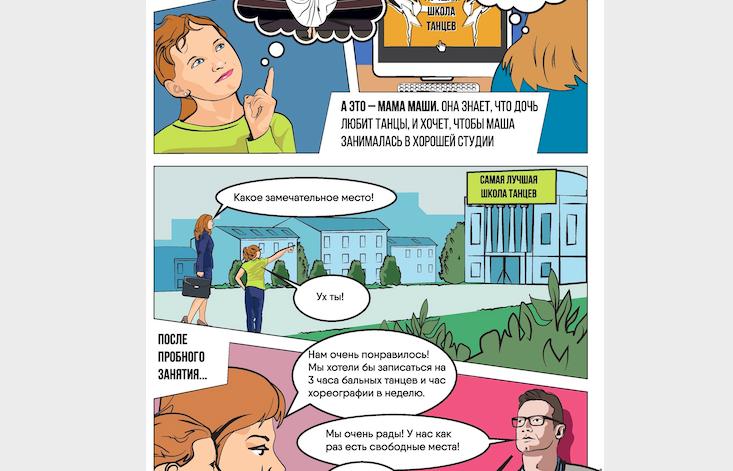 Комикс ОНФ: Как использовать сертификат ПФДО?