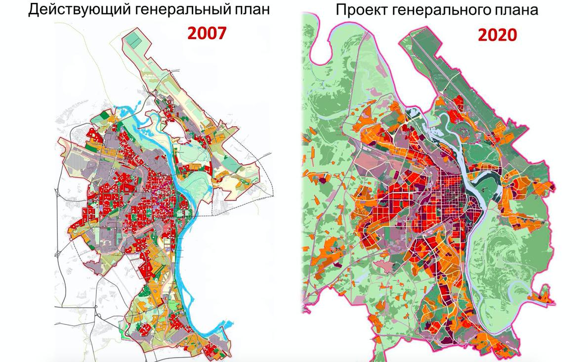 Будущее через 20 лет. Жителям представили генеральный план города Кирова