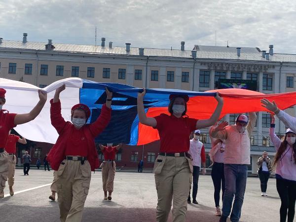 В Кирове отпраздновали День Государственного флага