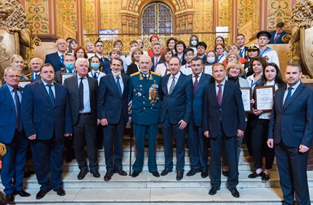 В Москве наградили победителей конкурса «Единой России» на лучший школьный музей памяти Великой Отечественной войны