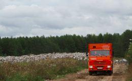 Кировские мусоровозы разбили дорогу на Зенгино