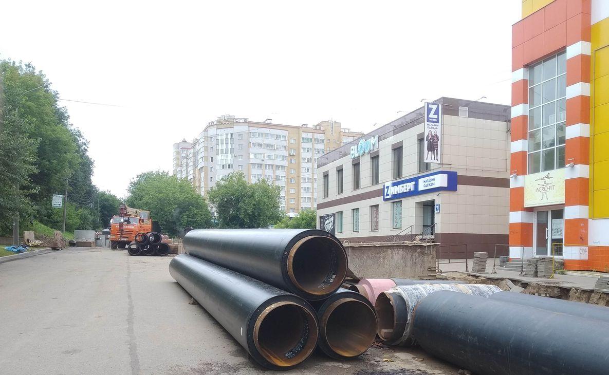 Реконструкция теплосети на улице Горького завершена