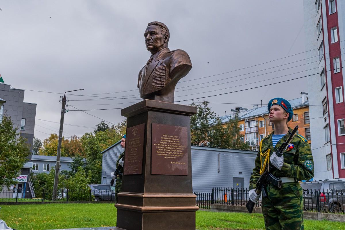 Памятник основателю воздушно-десантных войск официально открыт