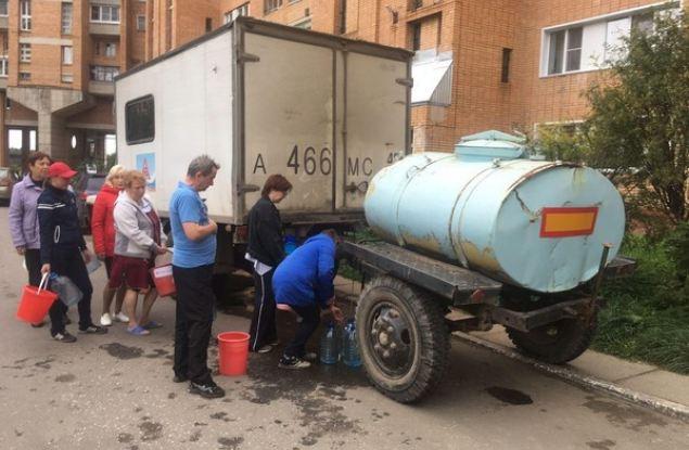 Ситуация по восстановлению водоснабжения в Кирово-Чепецком районе находится на партийном контроле