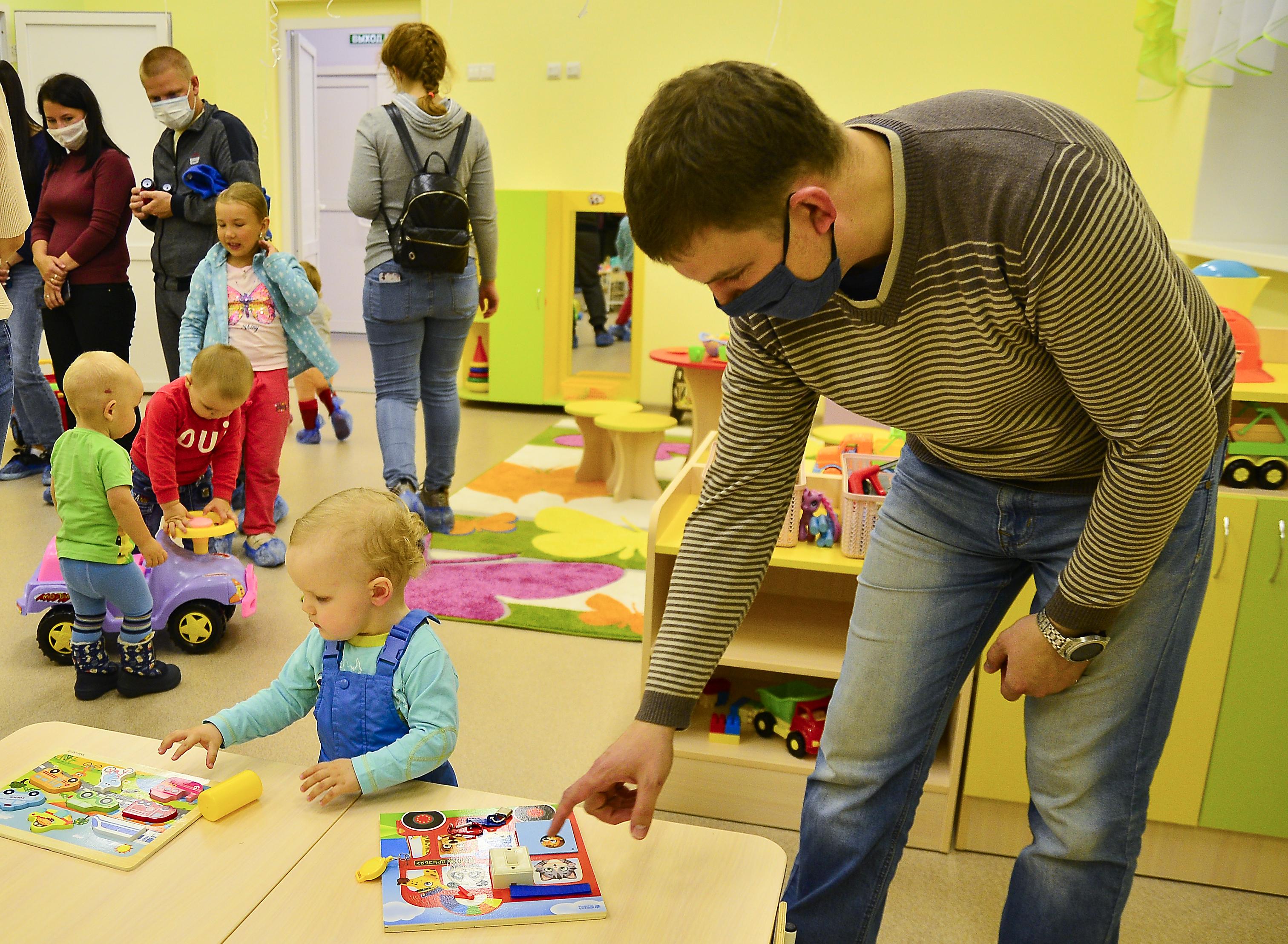 В Кирово-Чепецке открылась еще одна корпоративная группа компании «УРАЛХИМ»