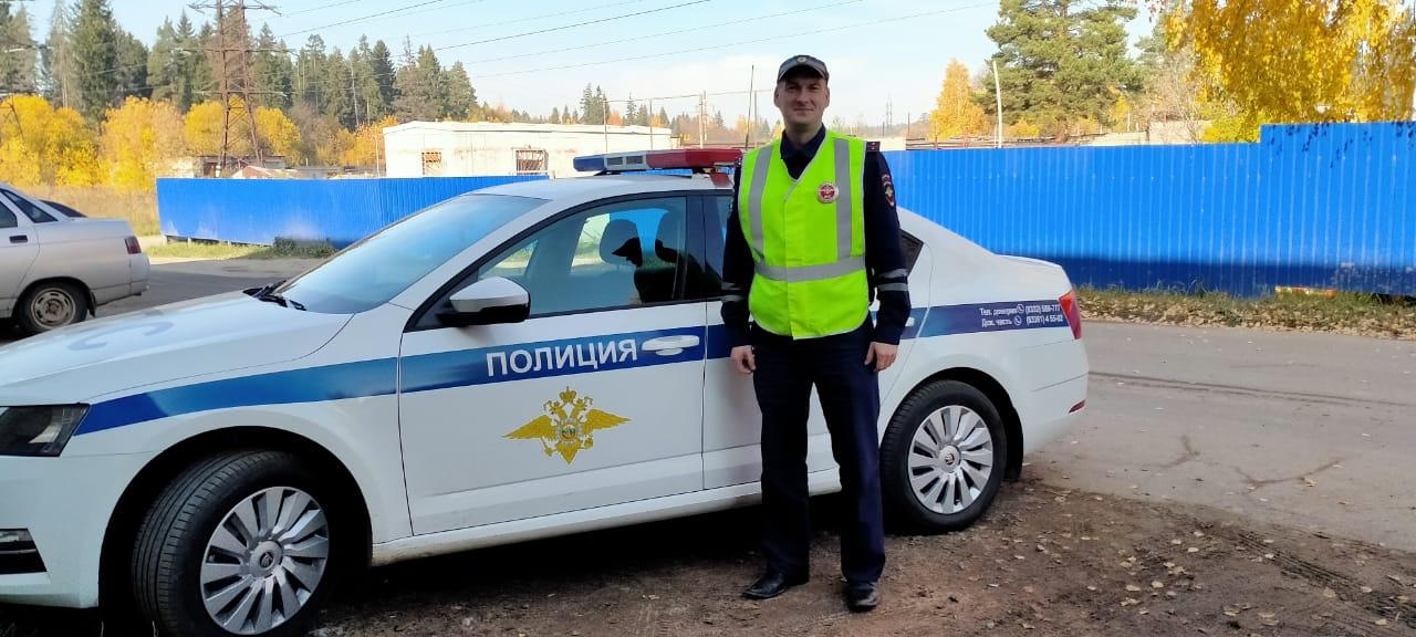 Сотрудник полиции из Кирово-Чепецкого района спас женщину из пожара