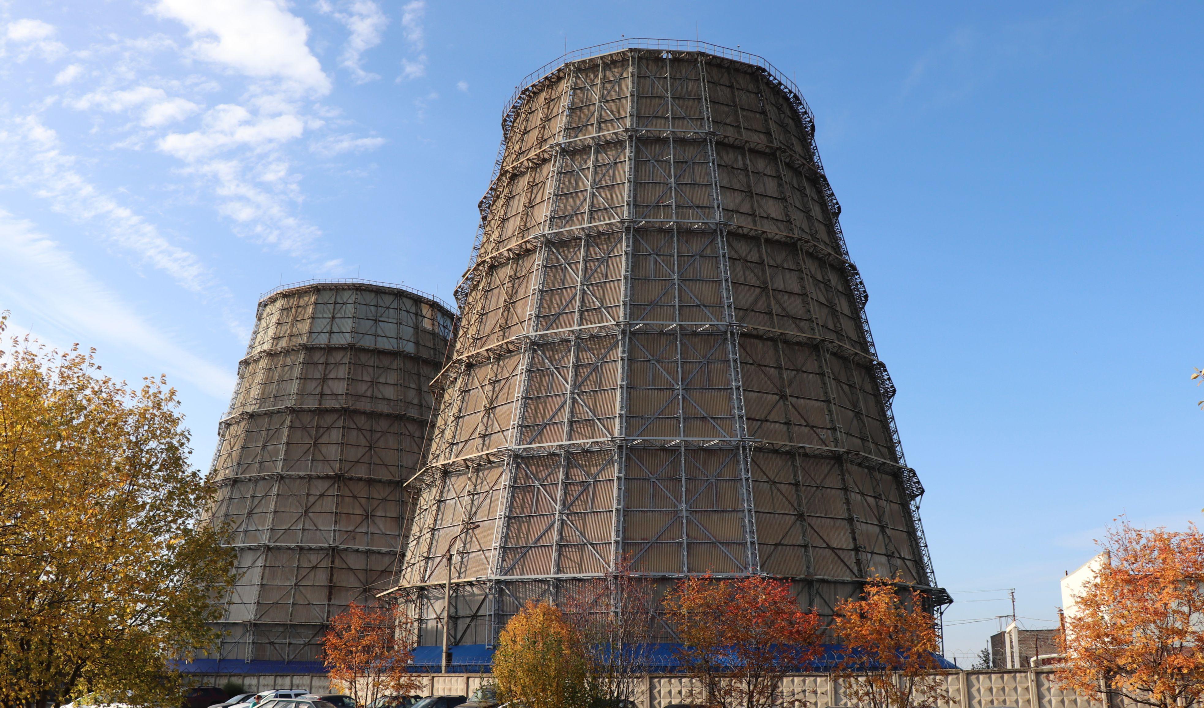 На Кировской ТЭЦ-5 началась реконструкция градирни