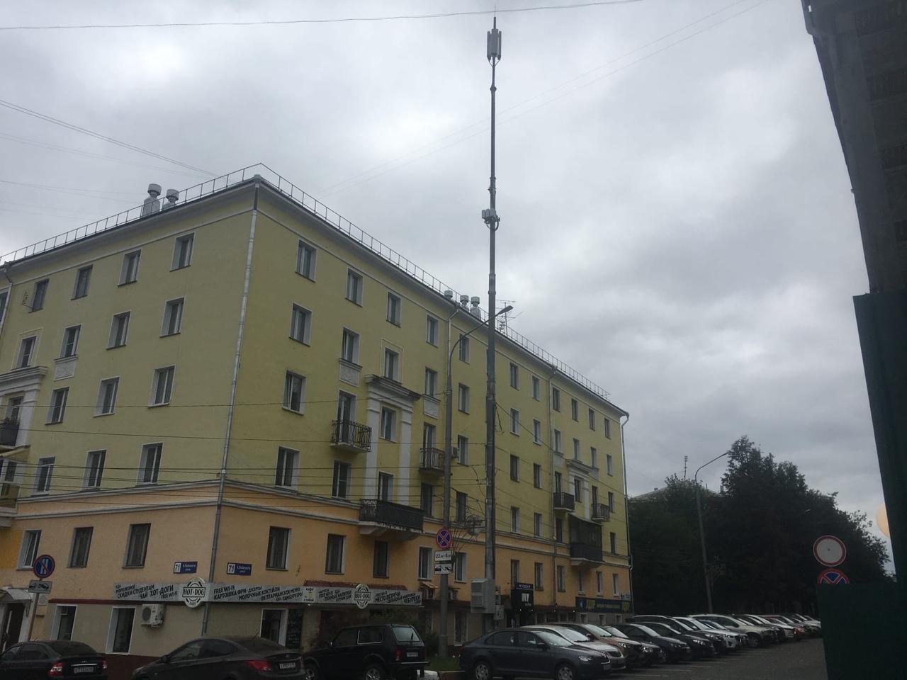 Радиофобия в Кирове: кировчане стали в 6 раз чаще жаловаться на сотовые вышки