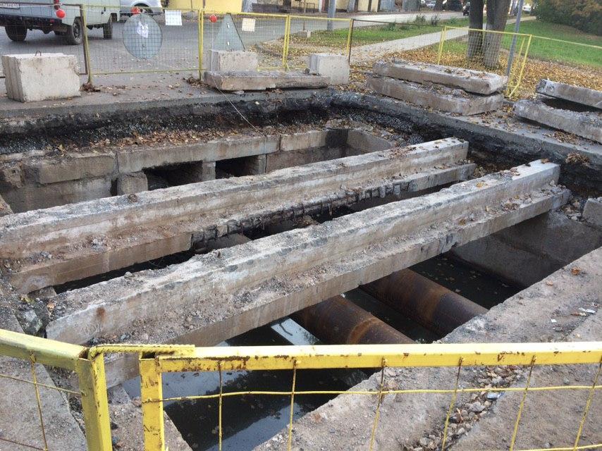 Коммунальные раскопки в Кирове будут продолжаться еще один месяц