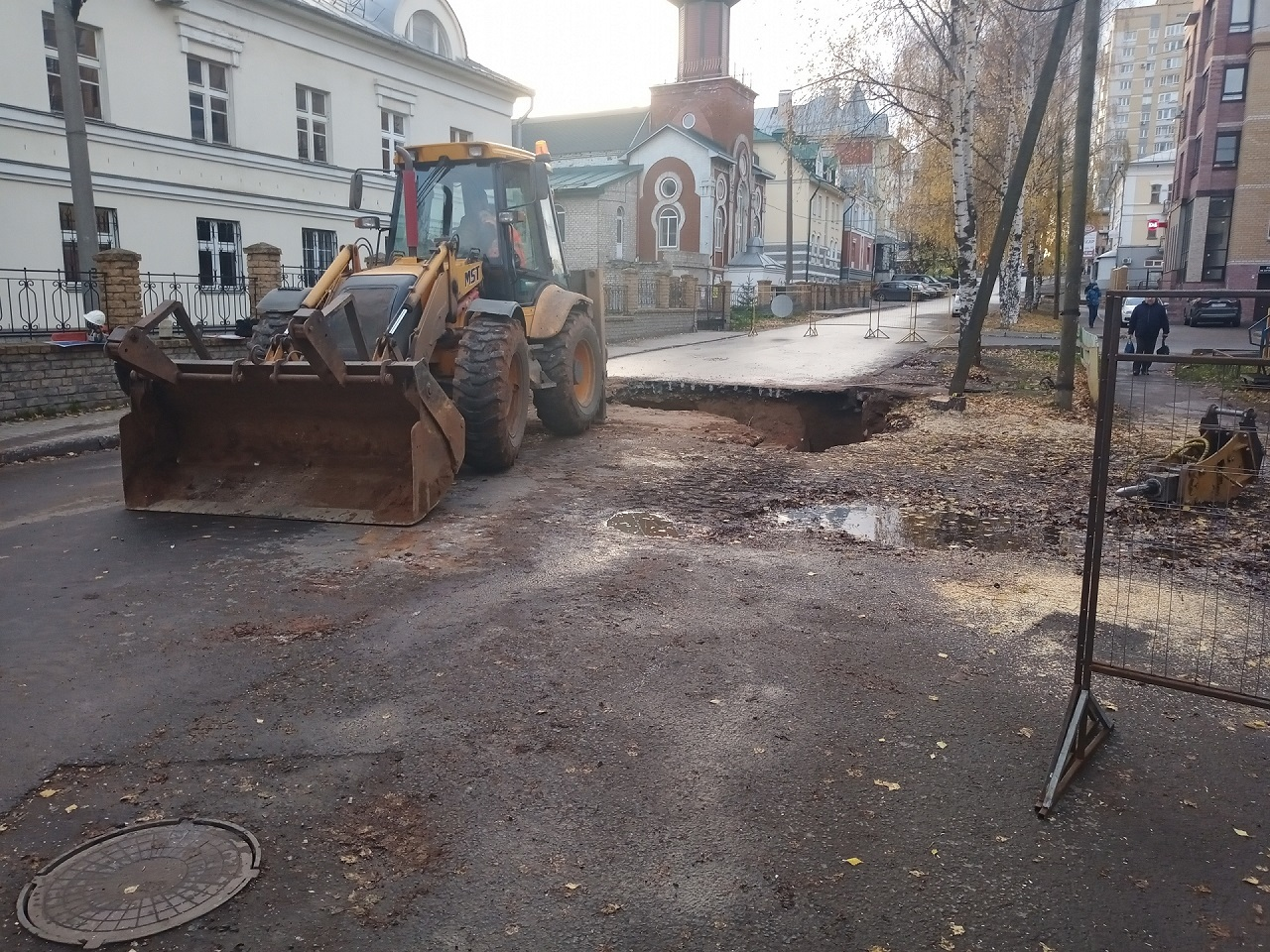 Незаконные раскопки в Кирове продолжаются