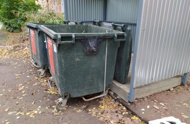 И так сойдет! Администрацию города устраивает состояние новых мусорных площадок