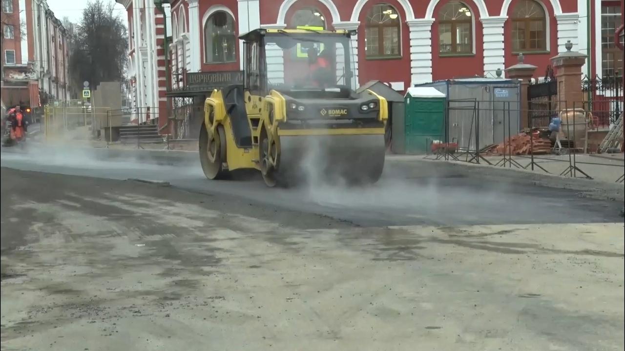 Движение по улице Казанской в Кирове должны открыть на этой неделе