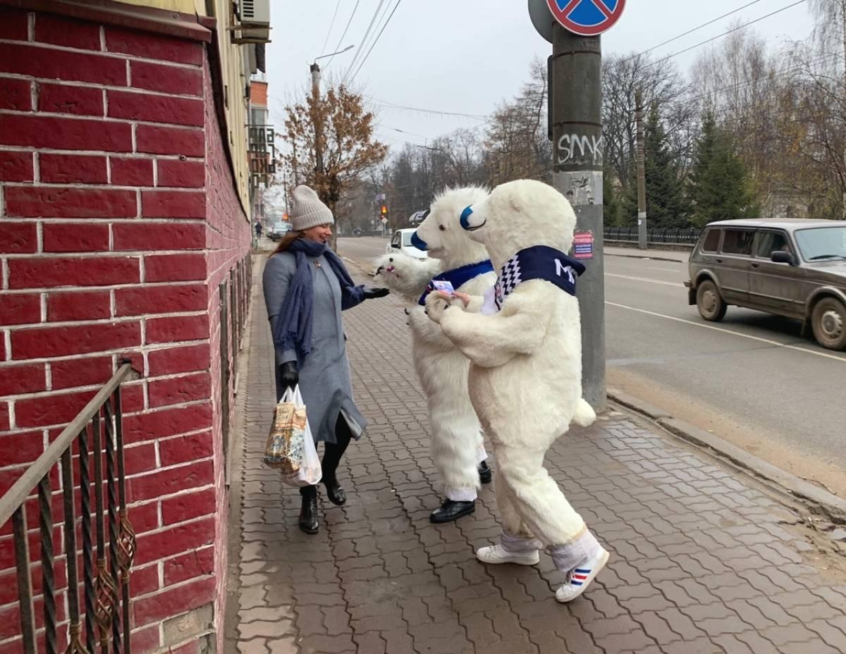 Кировчан поздравили с Днем народного единства
