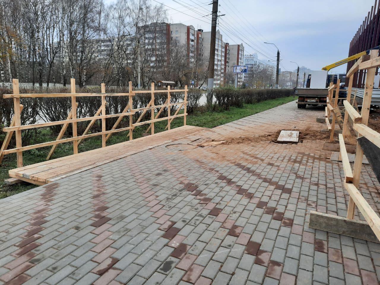История с раскопанным тротуаром на Московской получила неожиданное продолжение