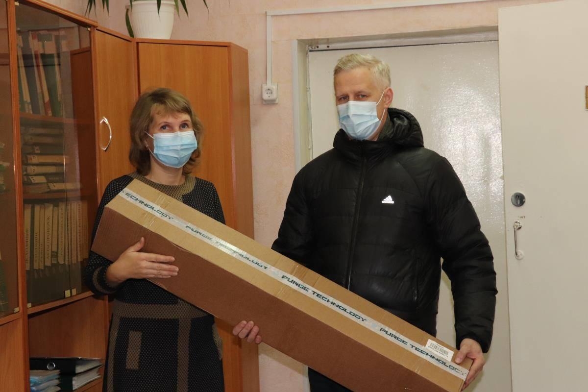 Для школ Омутнинска приобрели рециркуляторы воздуха
