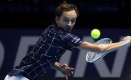 Россиянин Даниил Медведев выиграл в первом матче итогового турнира ATP