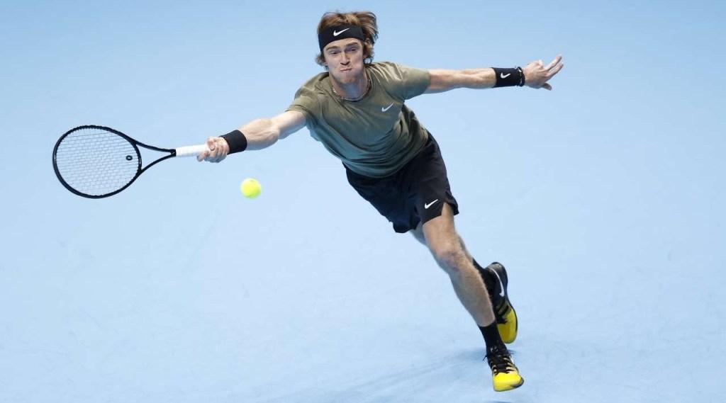 Российский теннисист Рублёв потерял шансы выйти в 1/2 Итогового турнира ATP