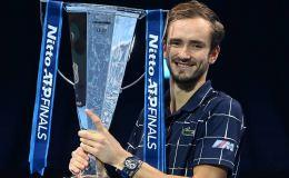 Российский теннисист Медведев выиграл Итоговый турнир ATP