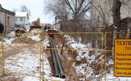 КТК строит новую теплотрассу для 41-го микрорайона Нововятска