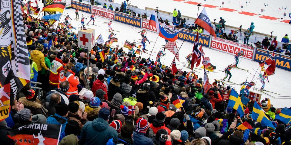 Российские биатлонисты останутся без поддержки зрителей на двух этапах Кубка мира
