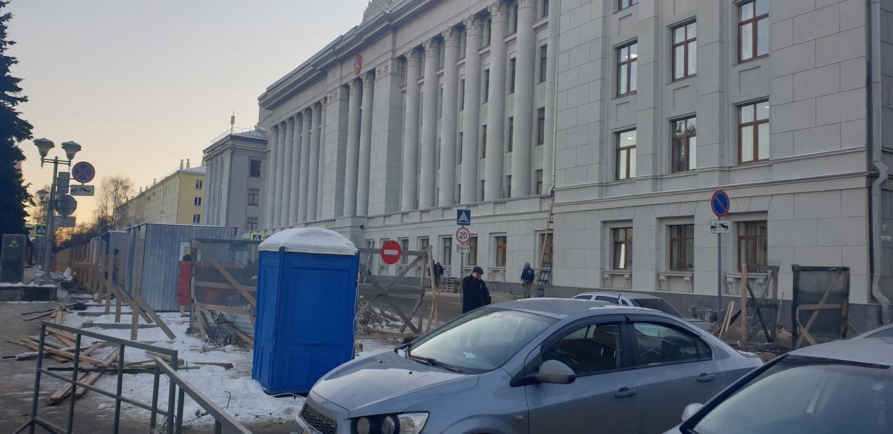 Завершен ремонт здания Администрации Кировской области