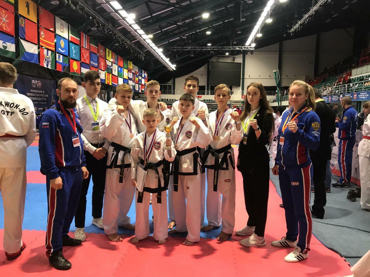 Сборная команда Кировской области по тхэквондо вернулась домой с 13 медалями!