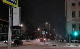 В Кирове начали появляться светофоры с подсветкой пешеходных переходов
