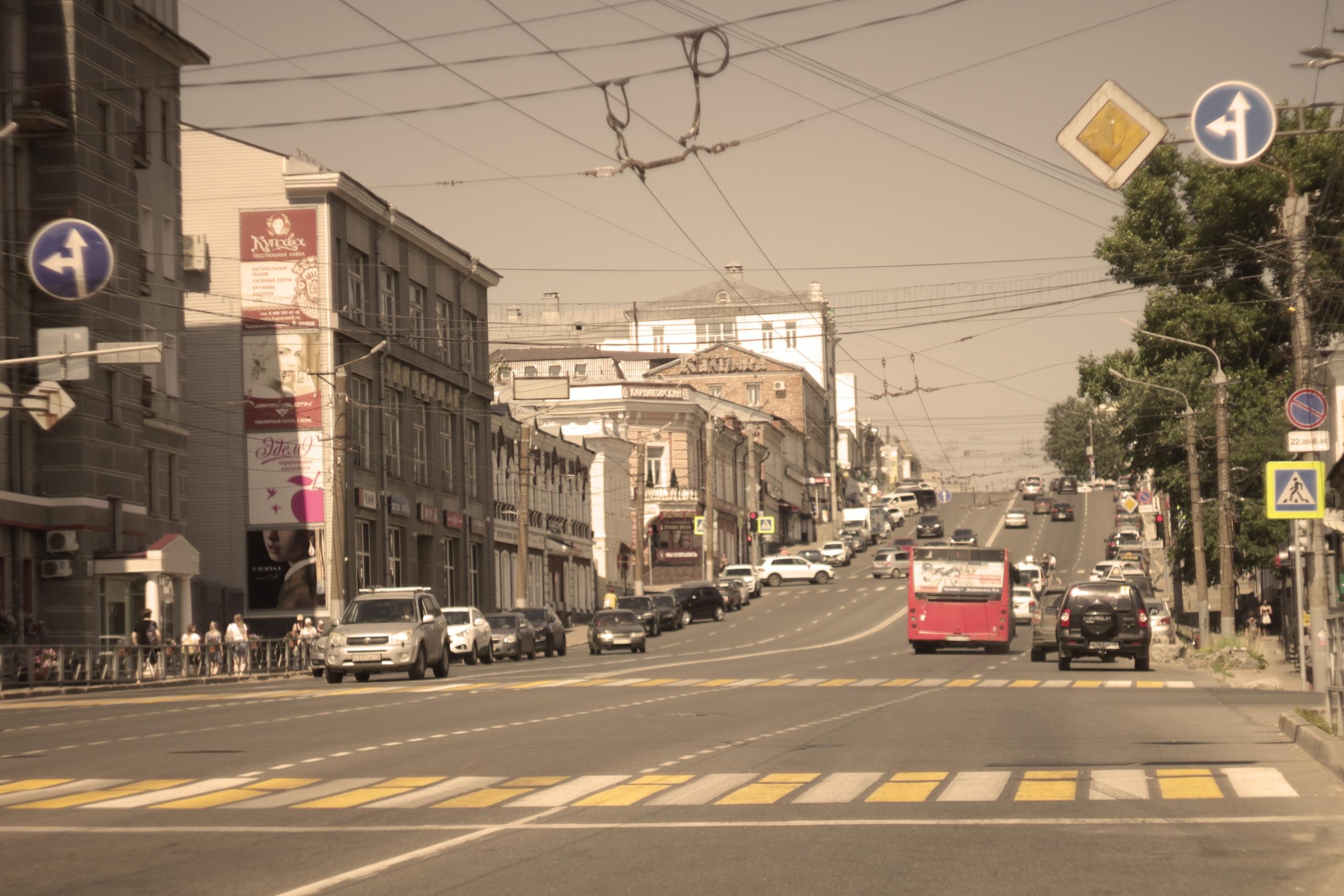 Исторические улицы Вятки в прогулке с дедушкой Женей