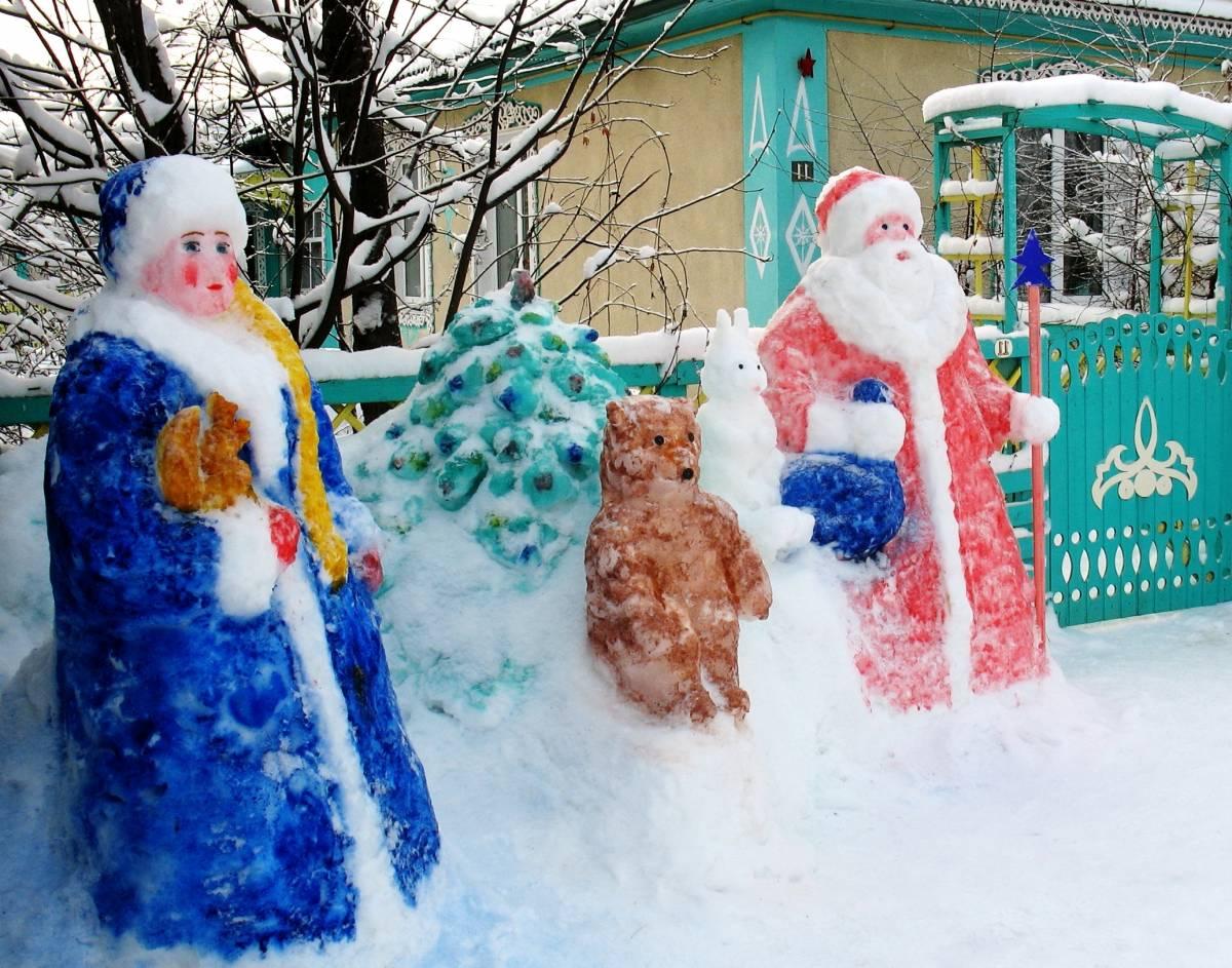 Жителей Кировской области приглашают поучаствовать в конкурсе снежных фигур «Зимние фантазии»