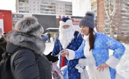 Депутаты гордумы от «УРАЛХИМа» провели в Кирово-Чепецке новогодние елки в новом формате