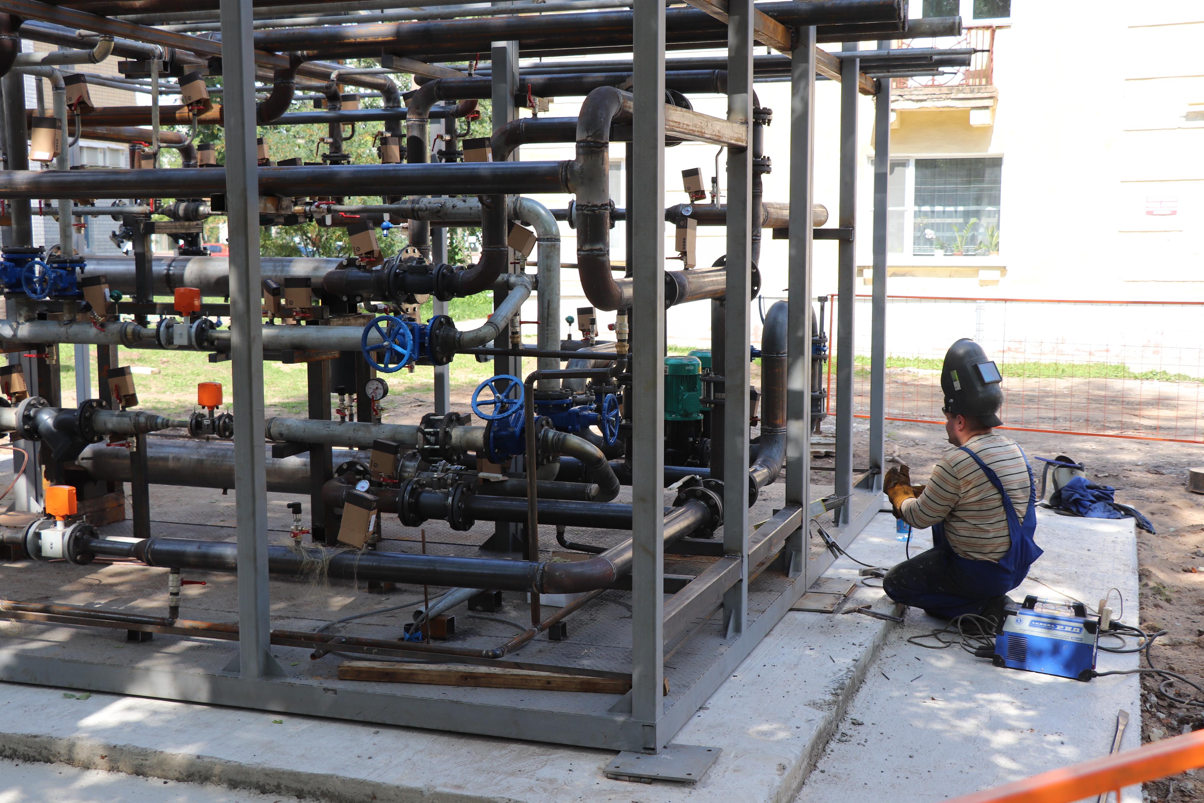 КТК модернизировала оборудование 15 центральных тепловых пунктов