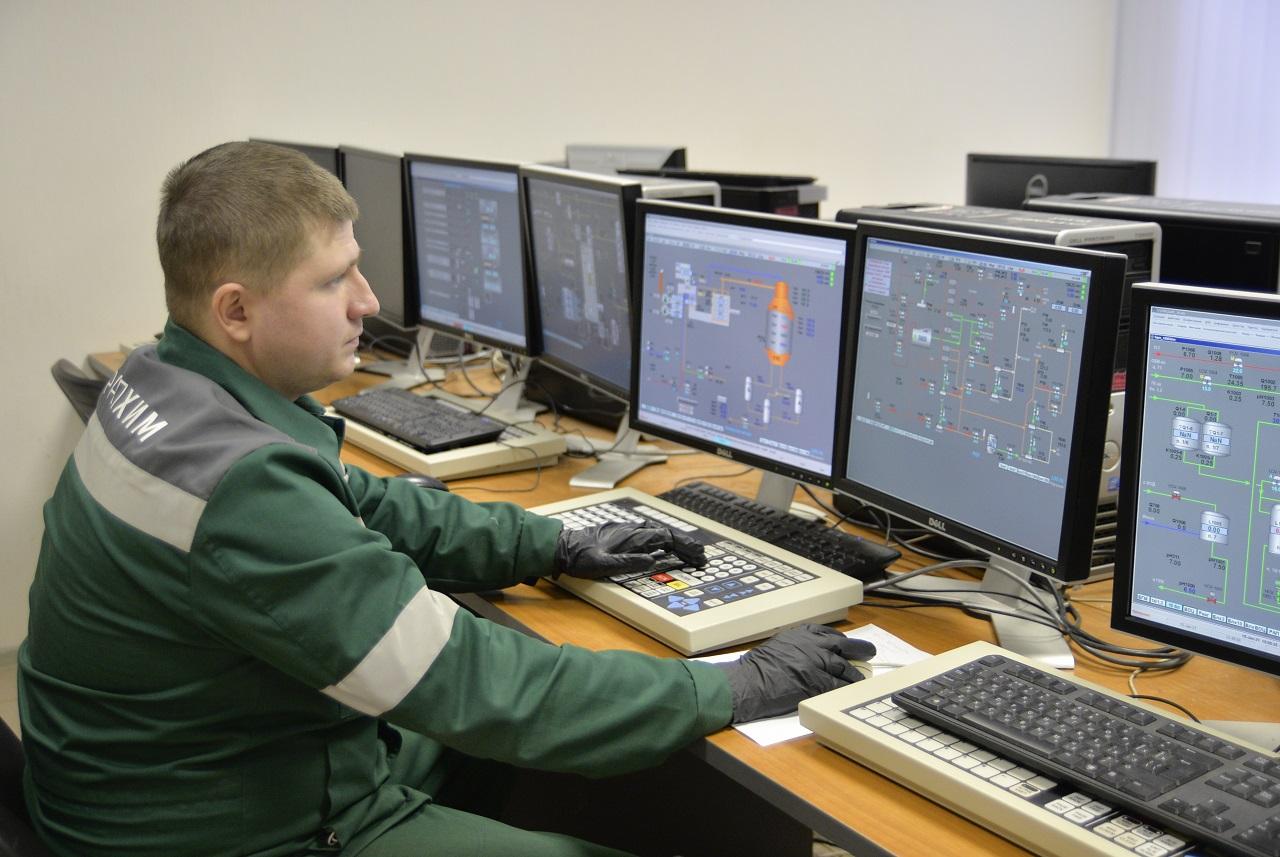 Новый тренажер на производстве аммиака в филиале «КЧХК»