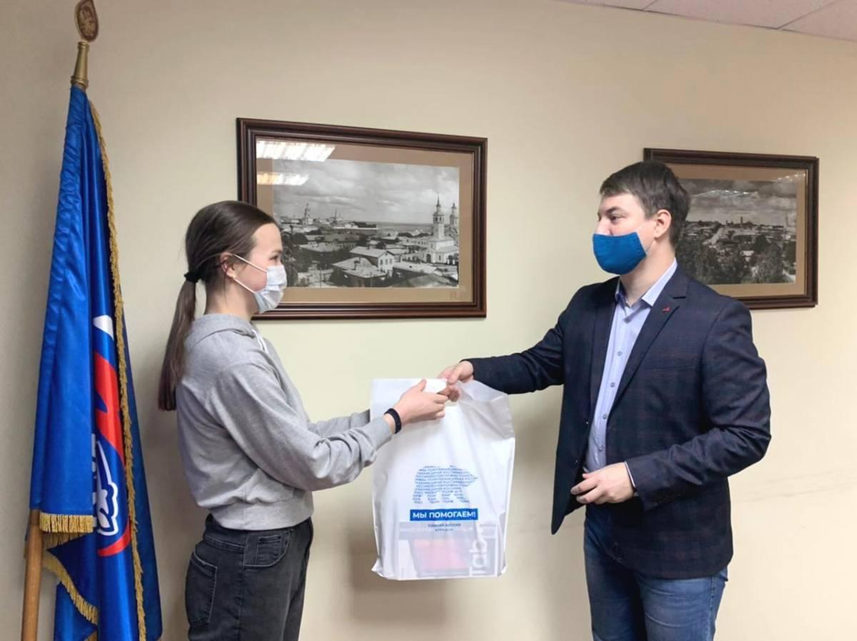 В Кировской области продолжается акция «Помоги учиться дома»