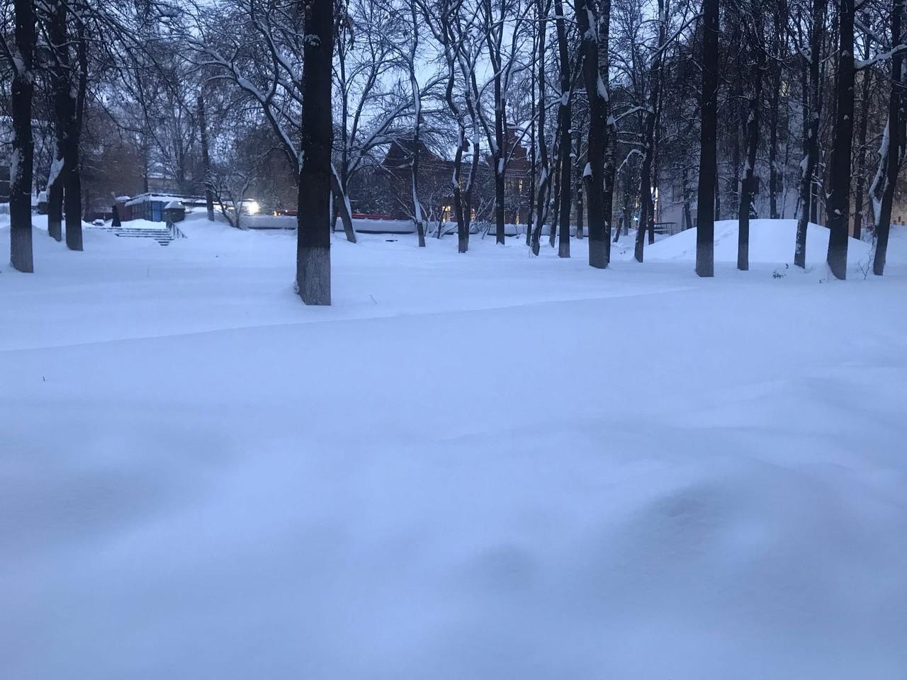 На выходных в Кирове ожидается морозная и солнечная погода