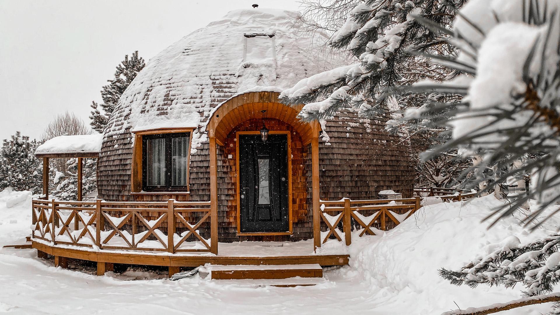 В Кировской области строится первый в России вращающийся дом