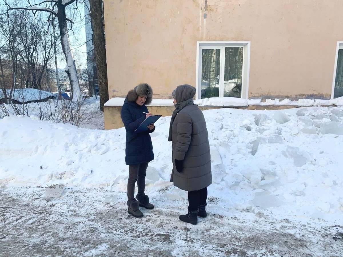 В Кирове провели мониторинги качества уборки снега и наледи