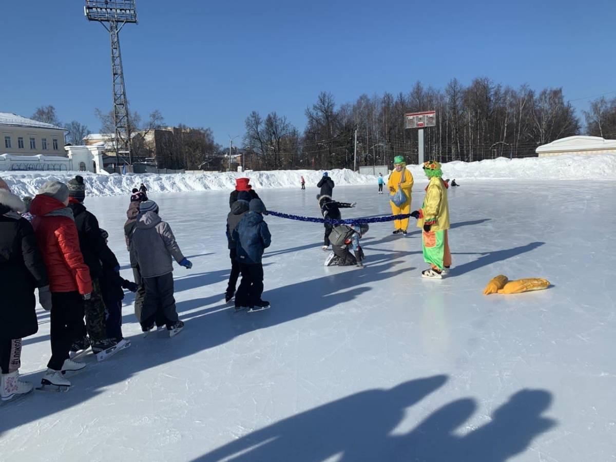 В Кирове прошла благотворительная акция «Динамовский каток»