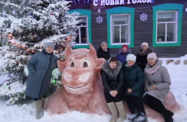 Подведены итоги конкурса снежных фигур «Зимние фантазии»