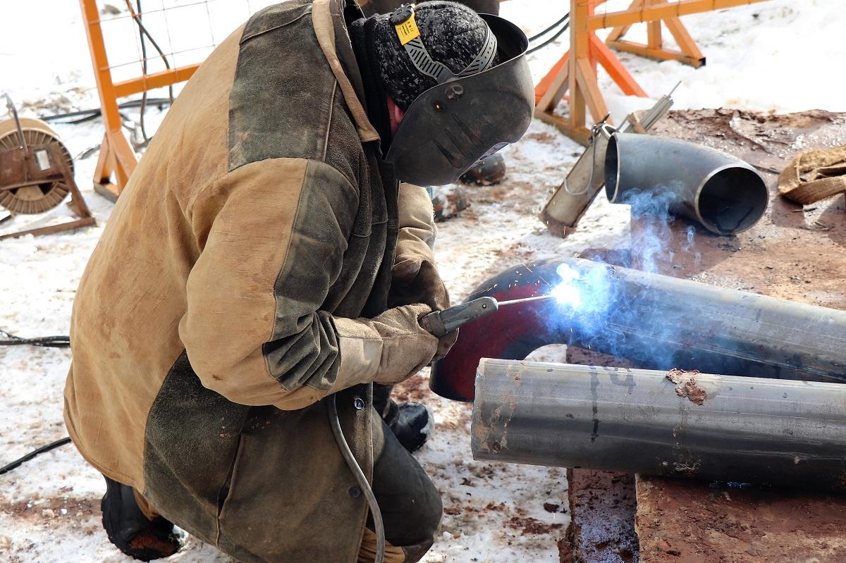 Теплоэнергетики приступили к ремонтным работам на теплосетях