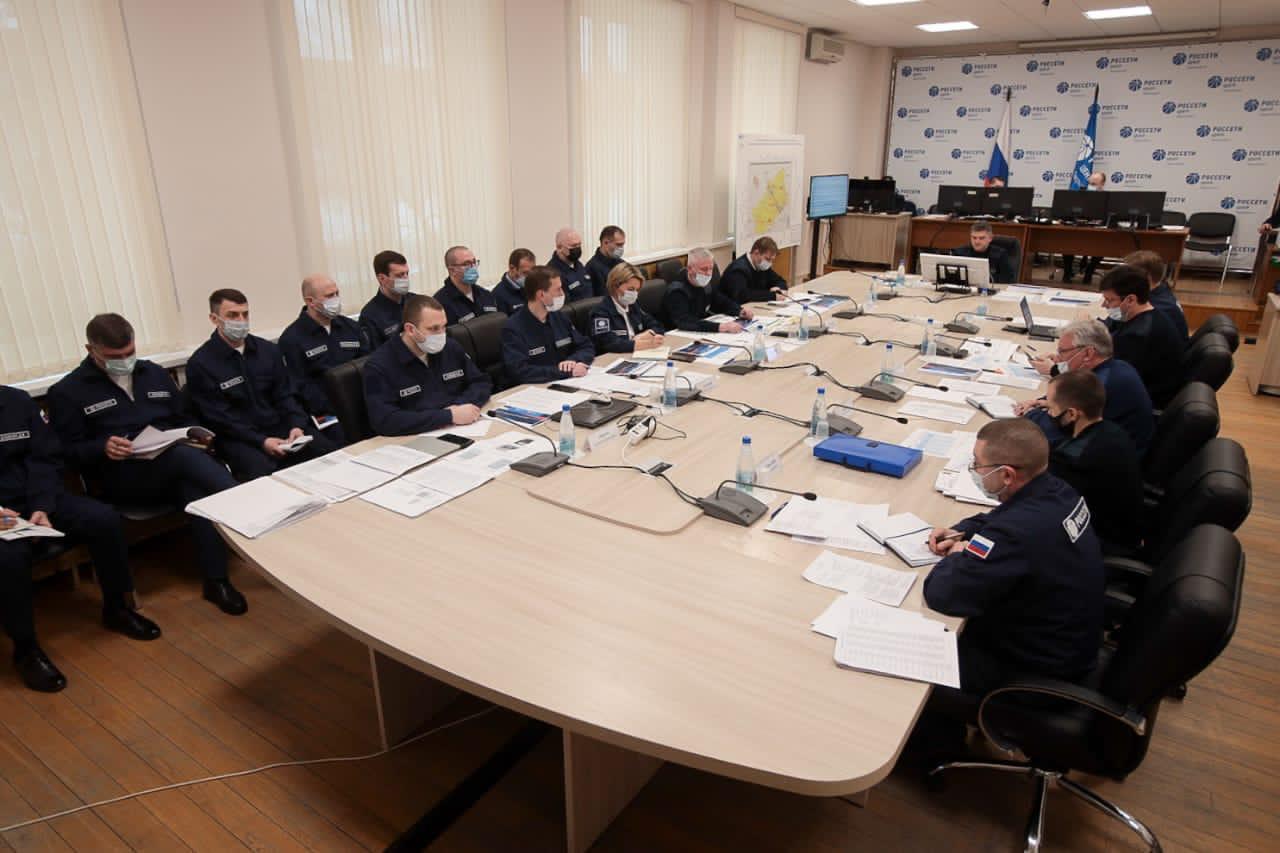 Игорь Маковский провел Штаб «Россети Центр» в Тверской области по повышению надёжности электросетевого комплекса региона