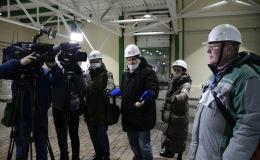 В филиале «КЧХК» прошла обзорная экскурсия на новое производство нитрата кальция