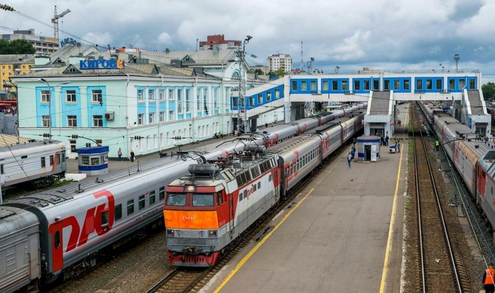 РЖД вводит дополнительный поезд по маршруту Киров - Санкт-Петербург