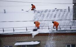 «Россети Центр и Приволжье Кировэнерго» напоминает о правилах электробезопасности при расчистке крыш от снега и льда