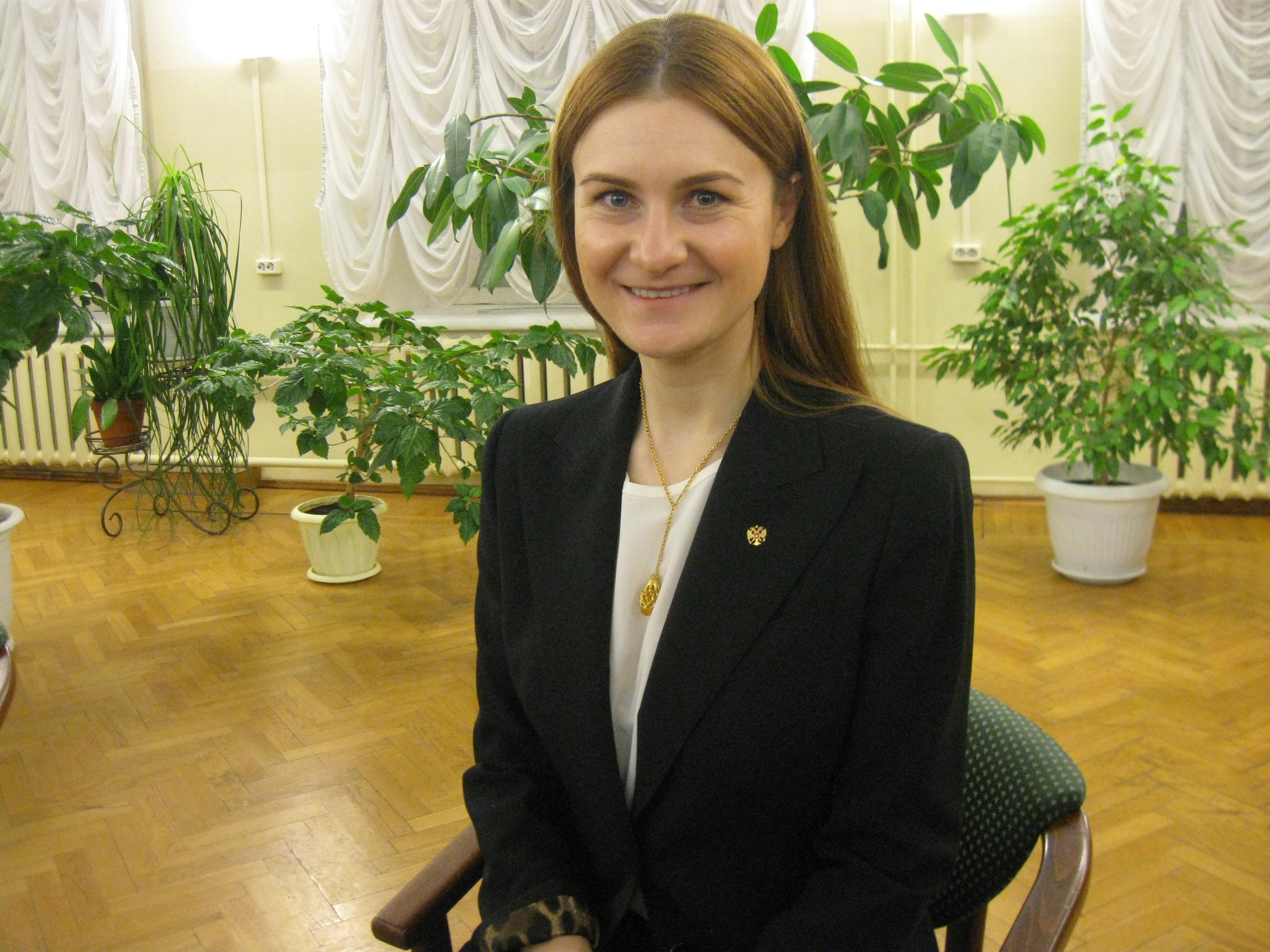 Мария Бутина: Россия своих не бросает!