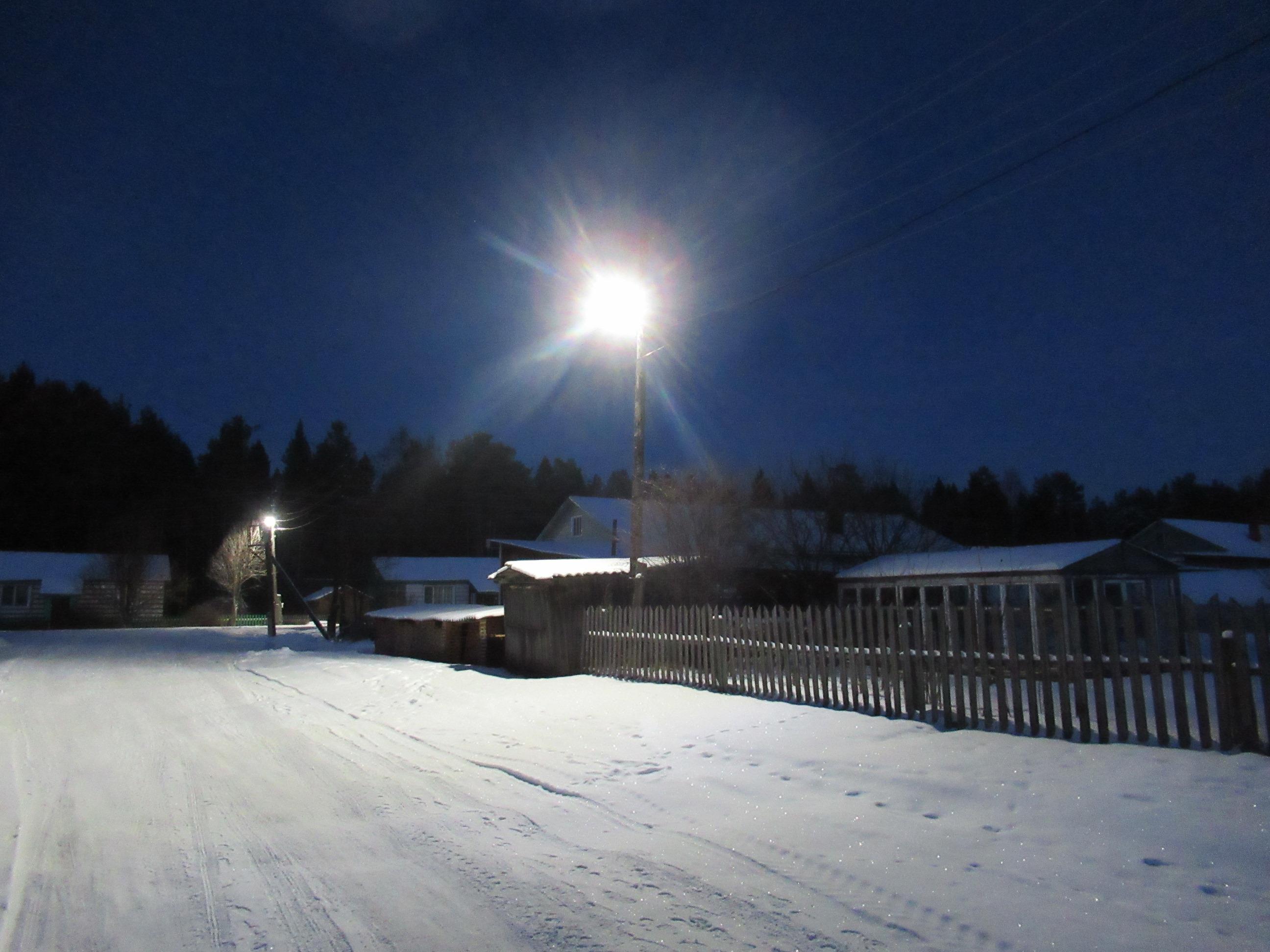 С начала 2021 года Кировэнерго принял на обслуживание более 1300 км сетей уличного освещения в 35 районах Кировской области