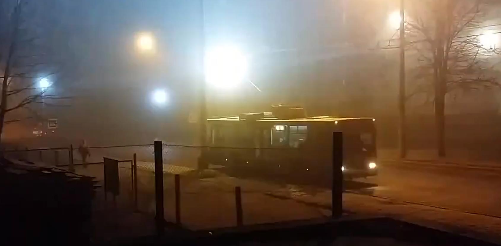 Минувшей ночью в Кирове были замечены загадочные вспышки света