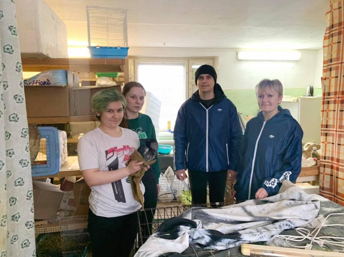 Волонтеры «Единой России» передали корм и оказали помощь с приобретением стройматериалов для ремонта птичьего приюта