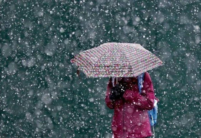 На этих выходных в Кирове ожидается дождь со снегом
